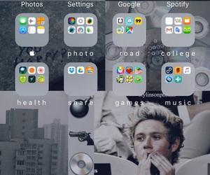 app, niall horan, and iphone image