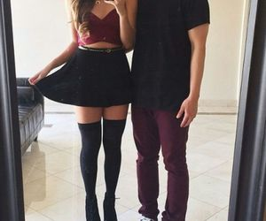 couple, outfit, and matching image