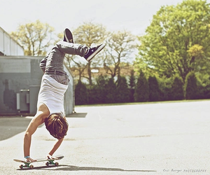 boy, skate, and photography image
