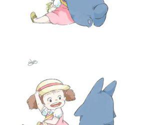anime, totoro, and My Neighbor Totoro image