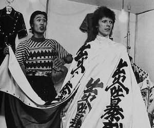 david bowie and kansai yamamoto image