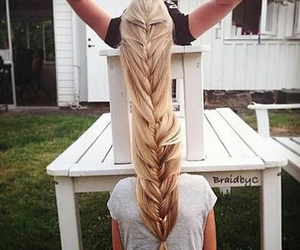 braid, hair, and friends image