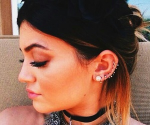 moda, piercing, and oreja image