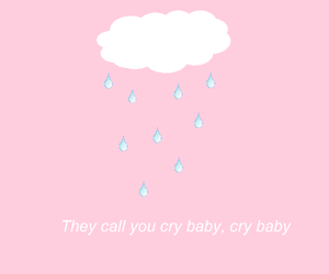 cry baby, pastel edit, and grunge image