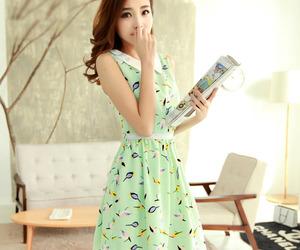 asian fashion, kfashion, and summer dress image