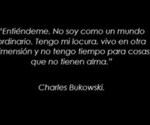 Bukowsky, locura, and frases image