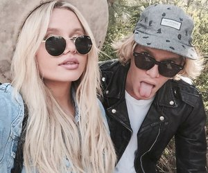 cody, alli, and simpson image
