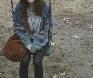 girl, grunge, and indie image
