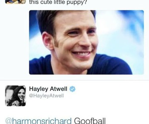 chris evans and hayley atwell image