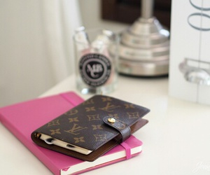 Louis Vuitton, girly, and pink image