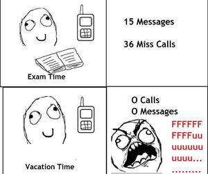 exam, messages, and time image