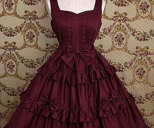 dress, gothic, and lolita image
