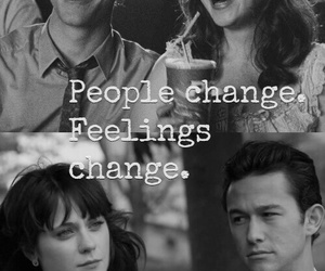 feelings, change, and 500 Days of Summer image