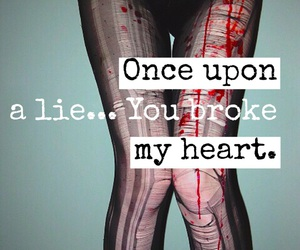 heart, lie, and quotes image