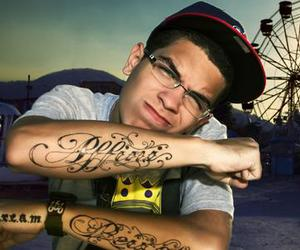 boy, handsome, and tattoo image
