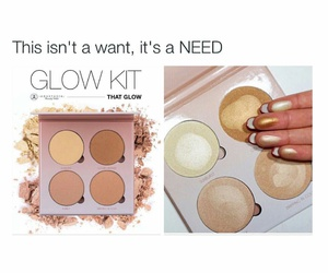 highlighter, contouring, and make up image