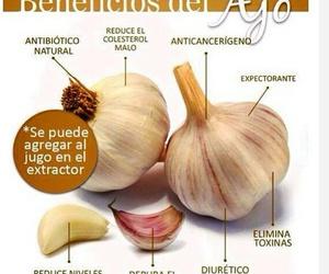 beauty, garlic, and health image
