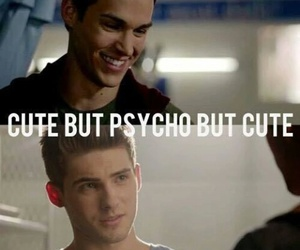 teen wolf, cute, and Psycho image