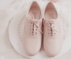 shoes, fashion, and pastel image