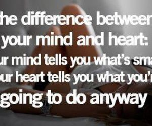 quote, heart, and mind image