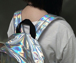grunge, holographic, and tumblr image