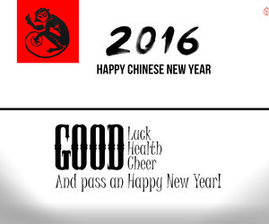 chinese new year, year of the monkey, and chinese new year 2016 image