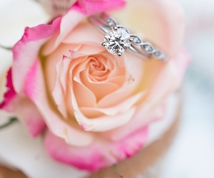 jewellery, pink, and romantic image