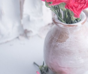 decor, flowers, and pink image