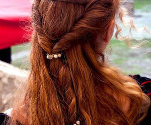 hair, hairstyle, and medieval image
