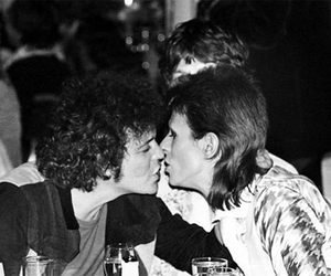 lou reed and david bowie image