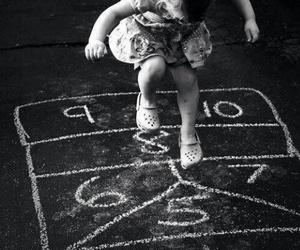 child, hopscotch, and kids image