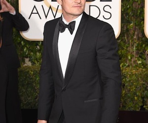 golden globes and orlando bloom image