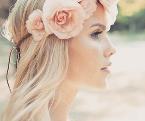 claire holt, flowers, and The Originals image