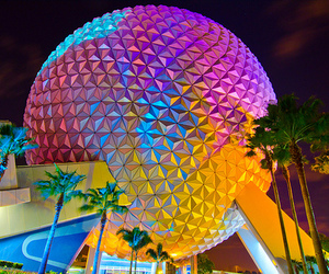 disney, photography, and epcot image