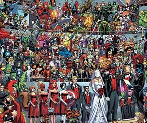 comics, Marvel, and love image