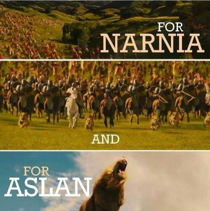 narnia, books, and aslan image