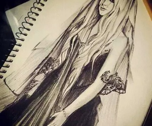 Avril Lavigne, drawing, and art image