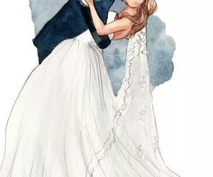 love, wedding, and art image