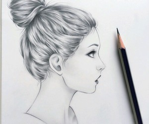 drawing, art, and draw image