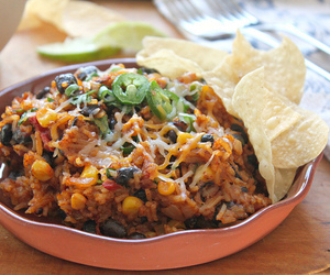 cheese, food, and mexican image