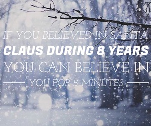 believe and santa claus image