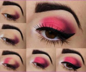 makeup, makeuptutorial, and eyemakeup image