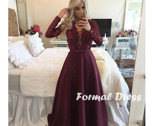 dress and evening dresses lace image
