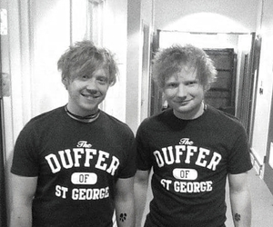 ed sheeran, rupert grint, and lego house image