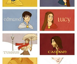 narnia, aslan, and caspian image