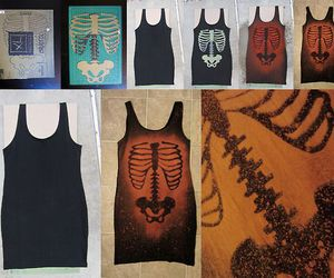 diy, dress, and gothic image