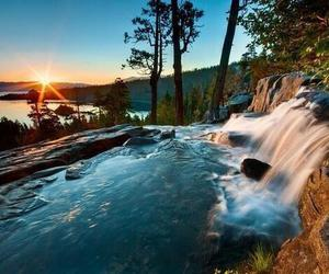 water, nature, and summer image