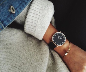 beautiful, outfit, and clock image