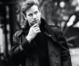 armie hammer and handsome image