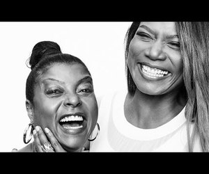 taraji p. henson, video, and queen latifah image